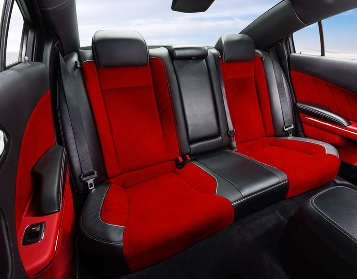 Ruby Red And Black Leather Seats Dodge Srt Challenger Srt Hellcat Dodge Challenger Srt Hellcat