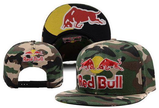 4bab728e6a4aa Red Bull Camo Snapback.