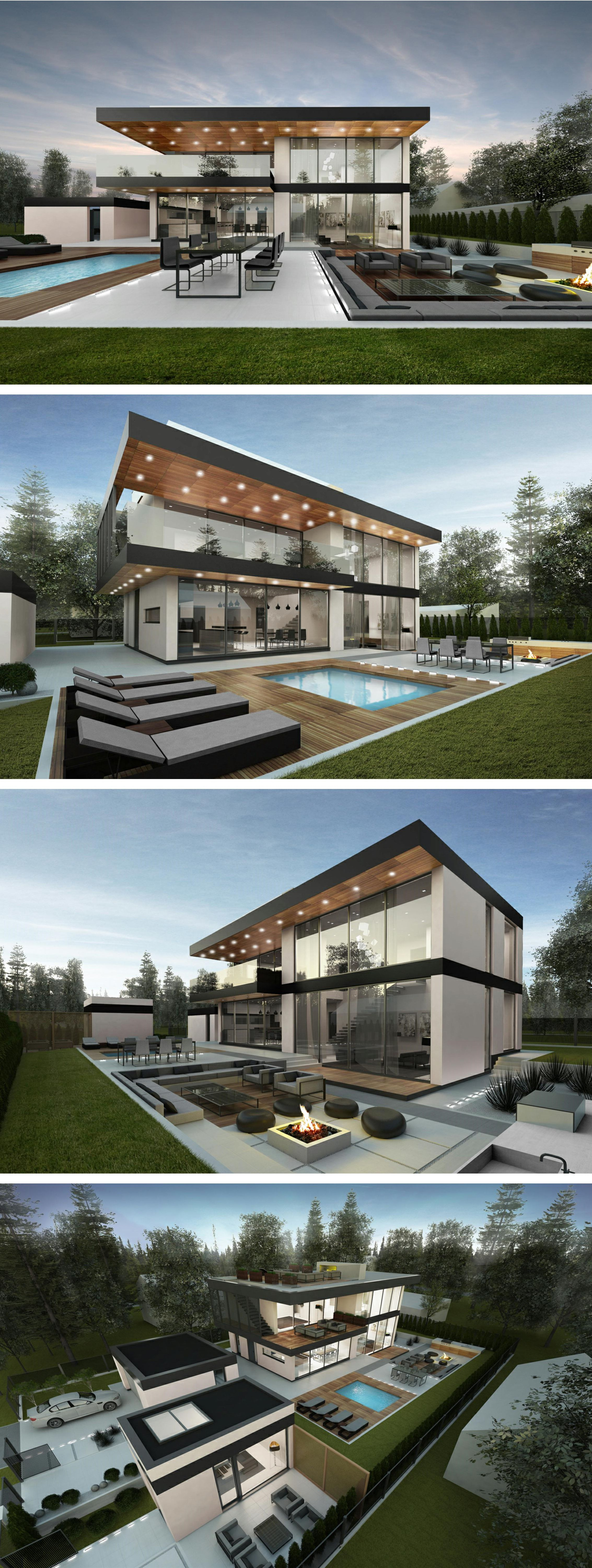 modern house plan Villa AIR designed by NG architects www ...