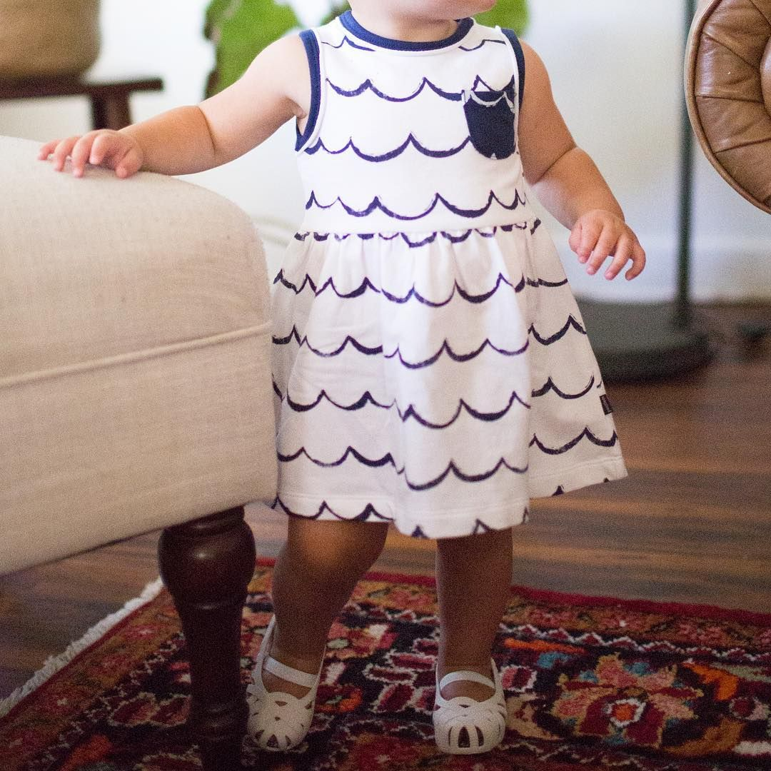 7479aee70ae6a This little dress is perfect for your beach lovin' babe // waves ...