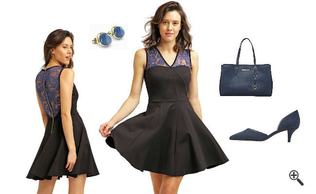 elegante kleider f r hochzeit als gast g nstig online. Black Bedroom Furniture Sets. Home Design Ideas