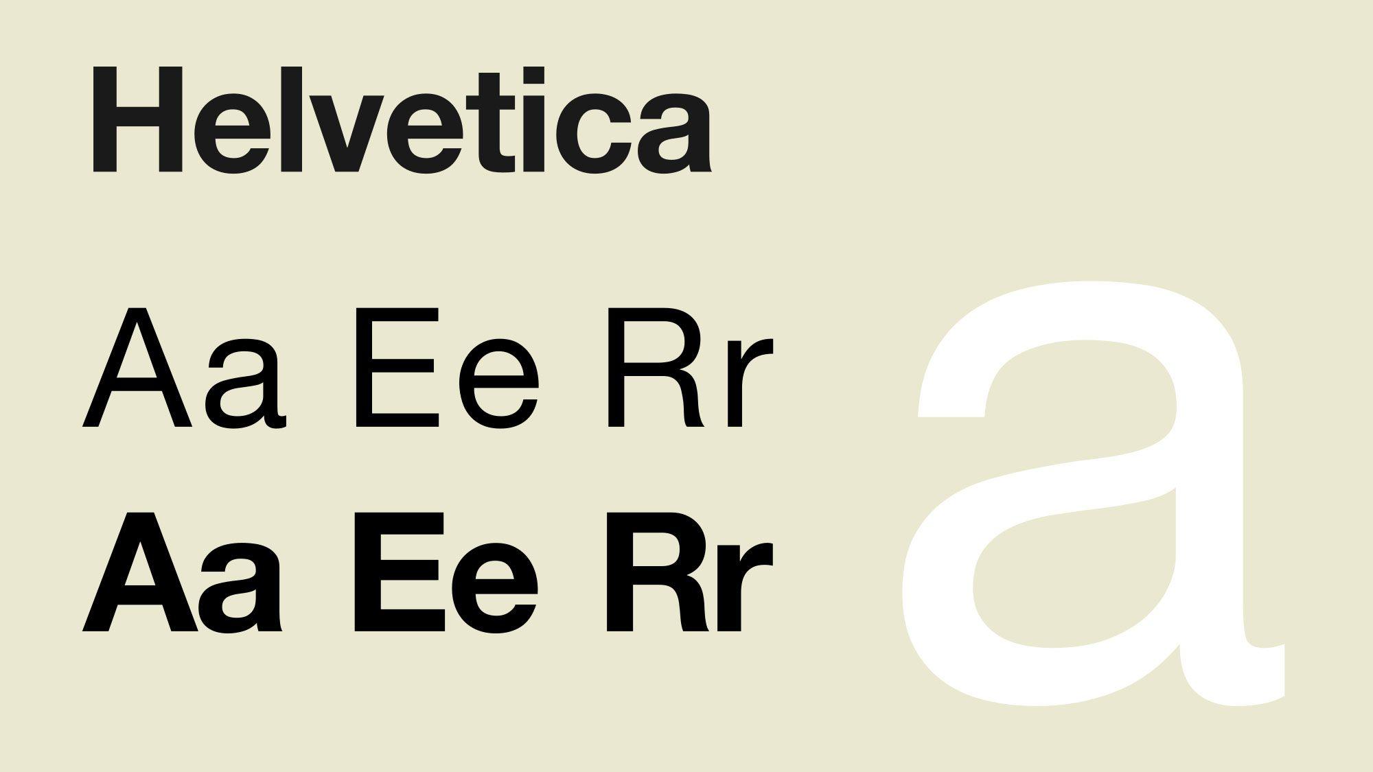 10 inspired alternatives to Helvetica