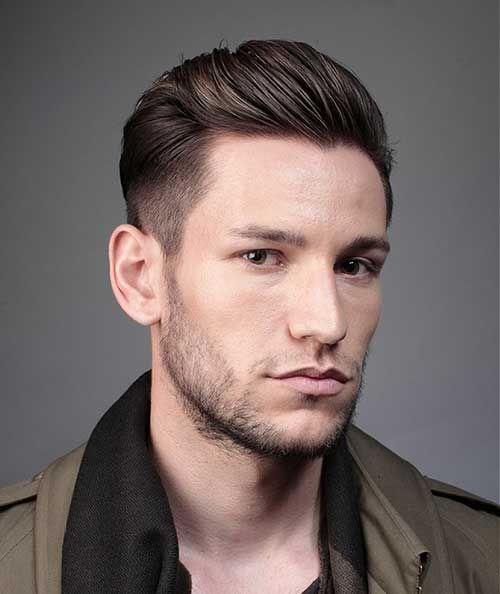 Trendy Frisuren Männer Gerade Haare