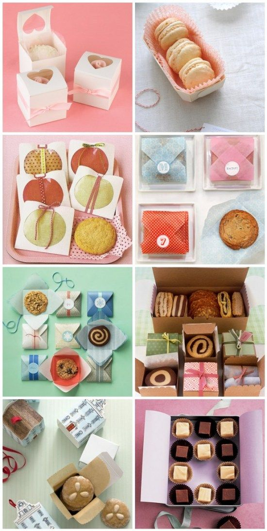 I love the whimsical packaging designs behind these sweets. I think presentation adds a lot to baked goods (whether giving them as a gift or marketing). The colors and designs of these remind me of crafting, sewing and preparing gifts as kid. They are whimsical and fun, but neat, modern and professional.