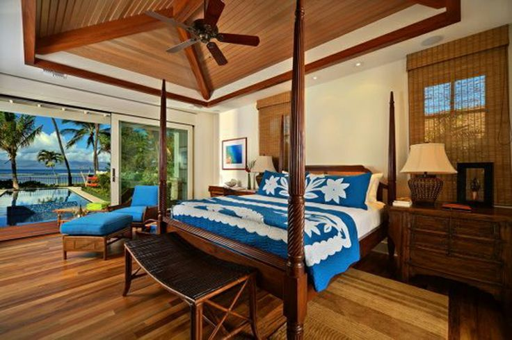 Polynesian bedroom decor hawaiian style home decor ideas for Island decor bedroom