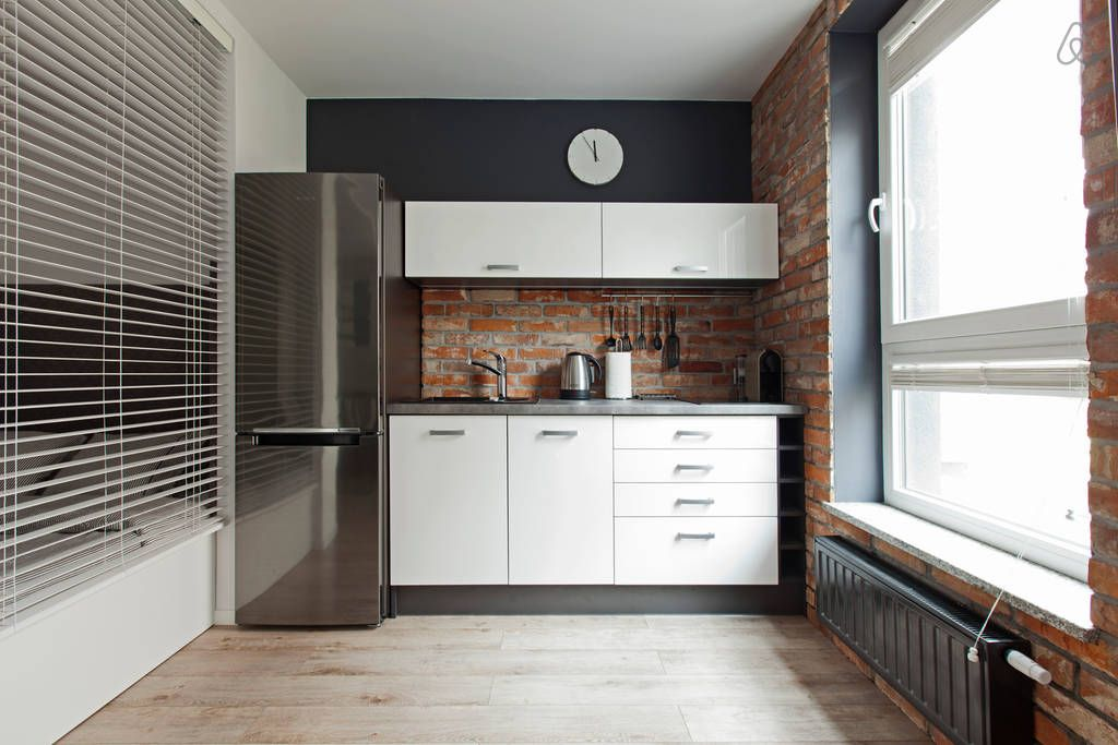 Golden House Apartment I W Wroclaw House Kitchen Cabinets Kitchen