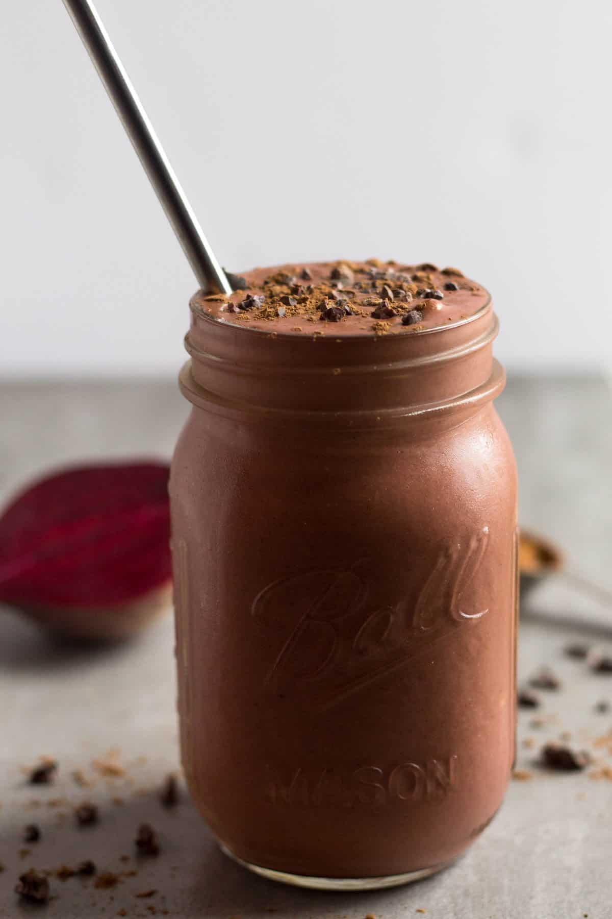 Chocolate Beet Smoothie images