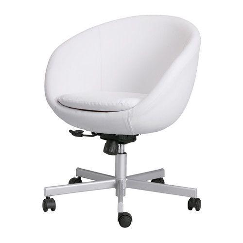 Bureaustoel Skruvsta Wit.Bureaustoel Slaapkamer Idee Stoel Ikea Wit Bureau En Ikea