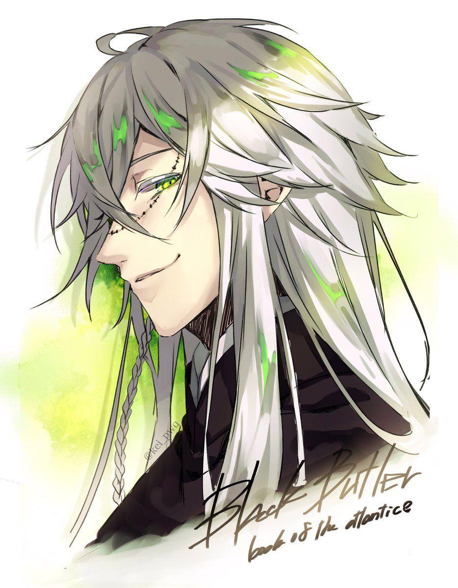 Black Butler Kuroshitsuji Undertaker Shinigami Manga
