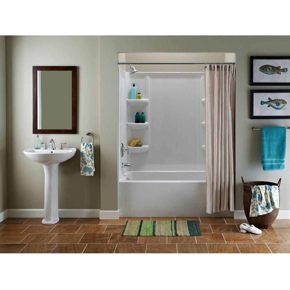 American Standard Cadet Pedestal Combo Bathroom Sink With 8 In
