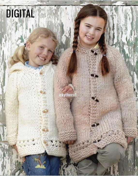 d20f208bdcea Instant PDF Digital Download Vintage Knitting Pattern Baby ...