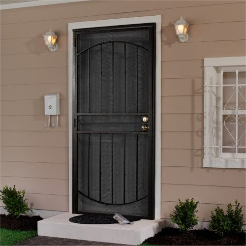 First Alert 40036x80 Apollo Designer Steel Security Door 36in X 80in