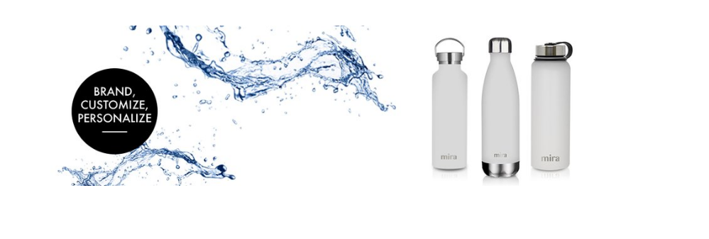 c28436302e Mira Brands double wall vacuum insulated stainless steel water bottles keep  drinks cold or hot for hours. Our high quality metal flasks are reusable,  ...