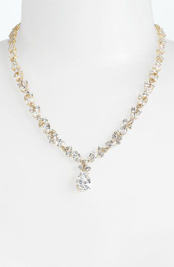 Nordstromweddings Nadri Teardrop Pendant Necklace Nordstrom