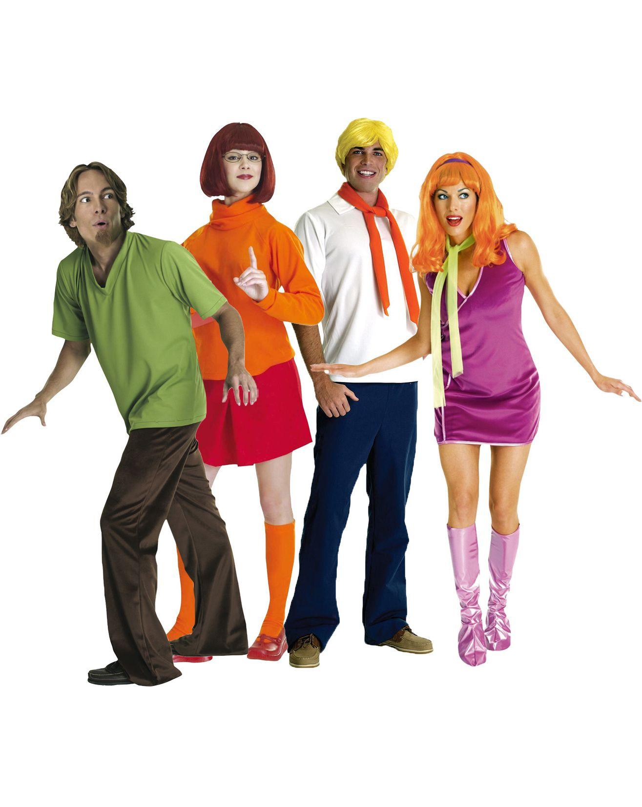 Scooby Doo Karneval Gruppenkostume In Verschiedenen Farben