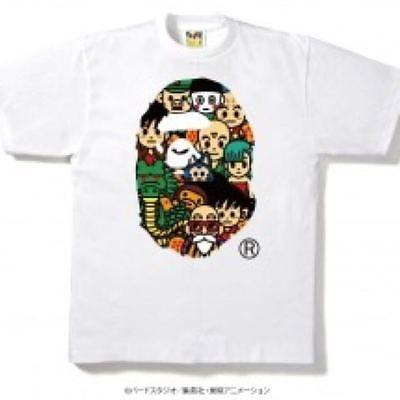 fa2b9c451 New A BATHING APE Bape x DRAGON BALL (S) T-shirt White Authentic Rare  BestOffer