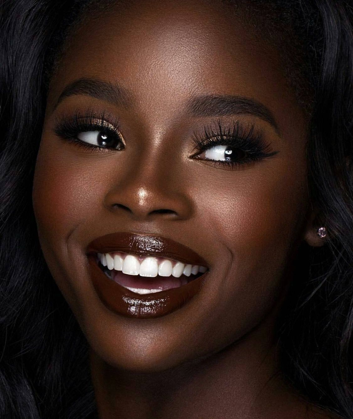 Makeup for black women Dark skin makeup, Dark skin women