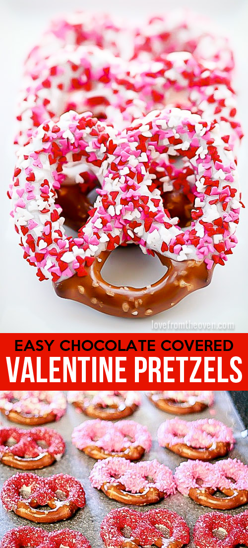 How To Make Chocolate Covered Pretzels For Valentine S Day A Great