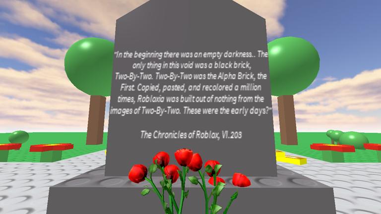RIP] Memorial for Tickets - ROBLOX   Roblox   Memories