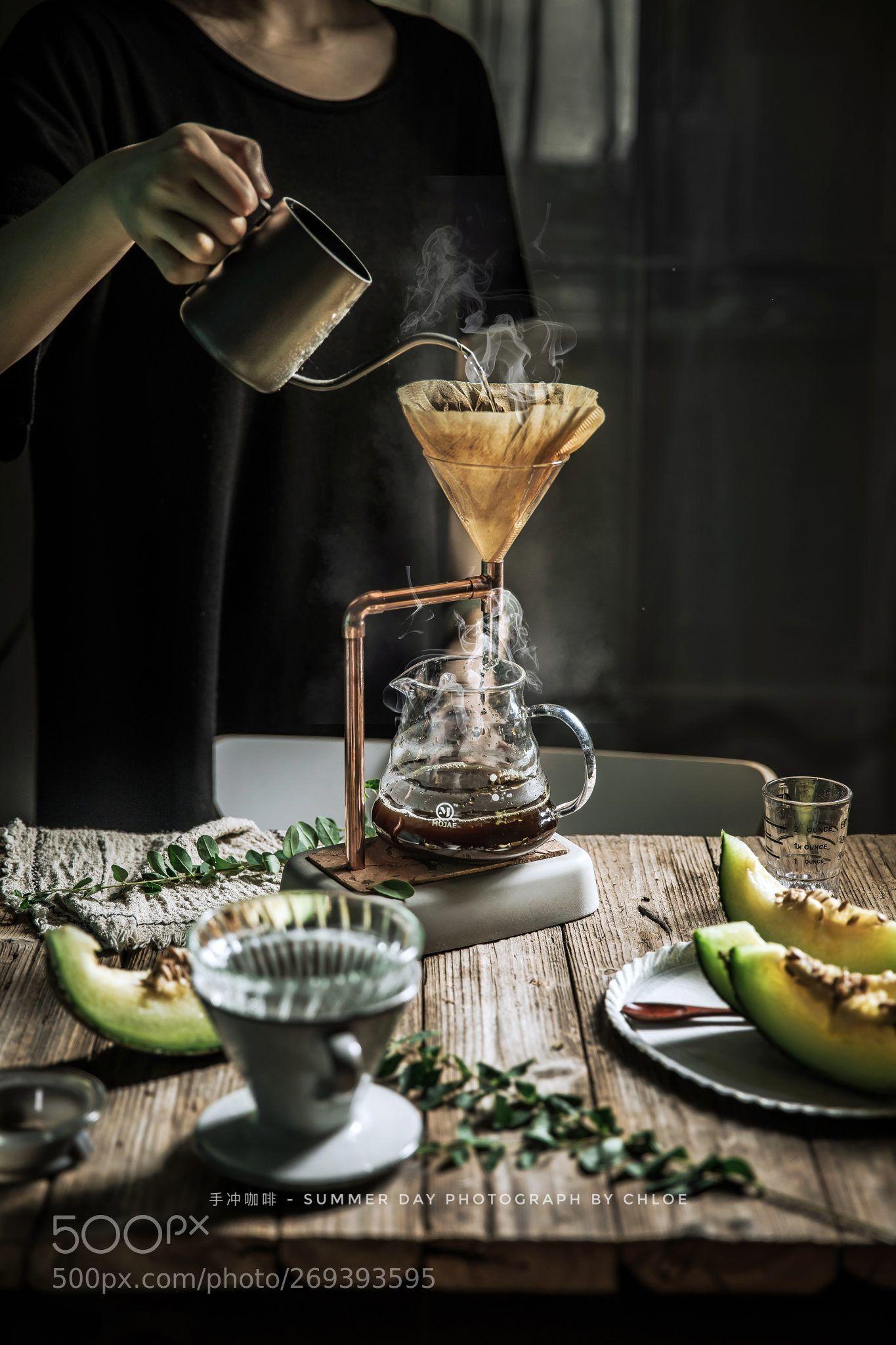 手冲咖啡 by vcgcrazygo Chemex coffee, Aeropress coffee, Coffee