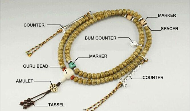 Mala Beads Buddhist Usually Contains The 108 Prayer Ers Beaded