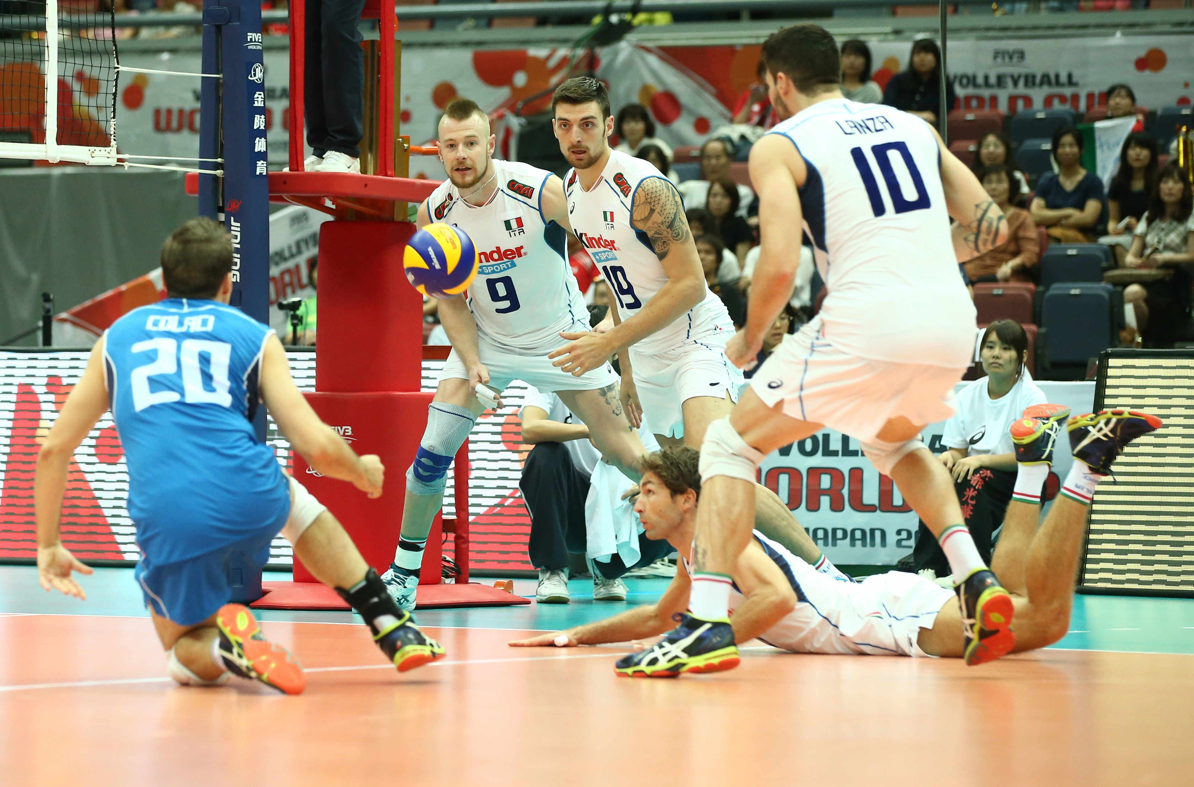 Team Italy Defense Mens World Cup Volleyball 21 Men