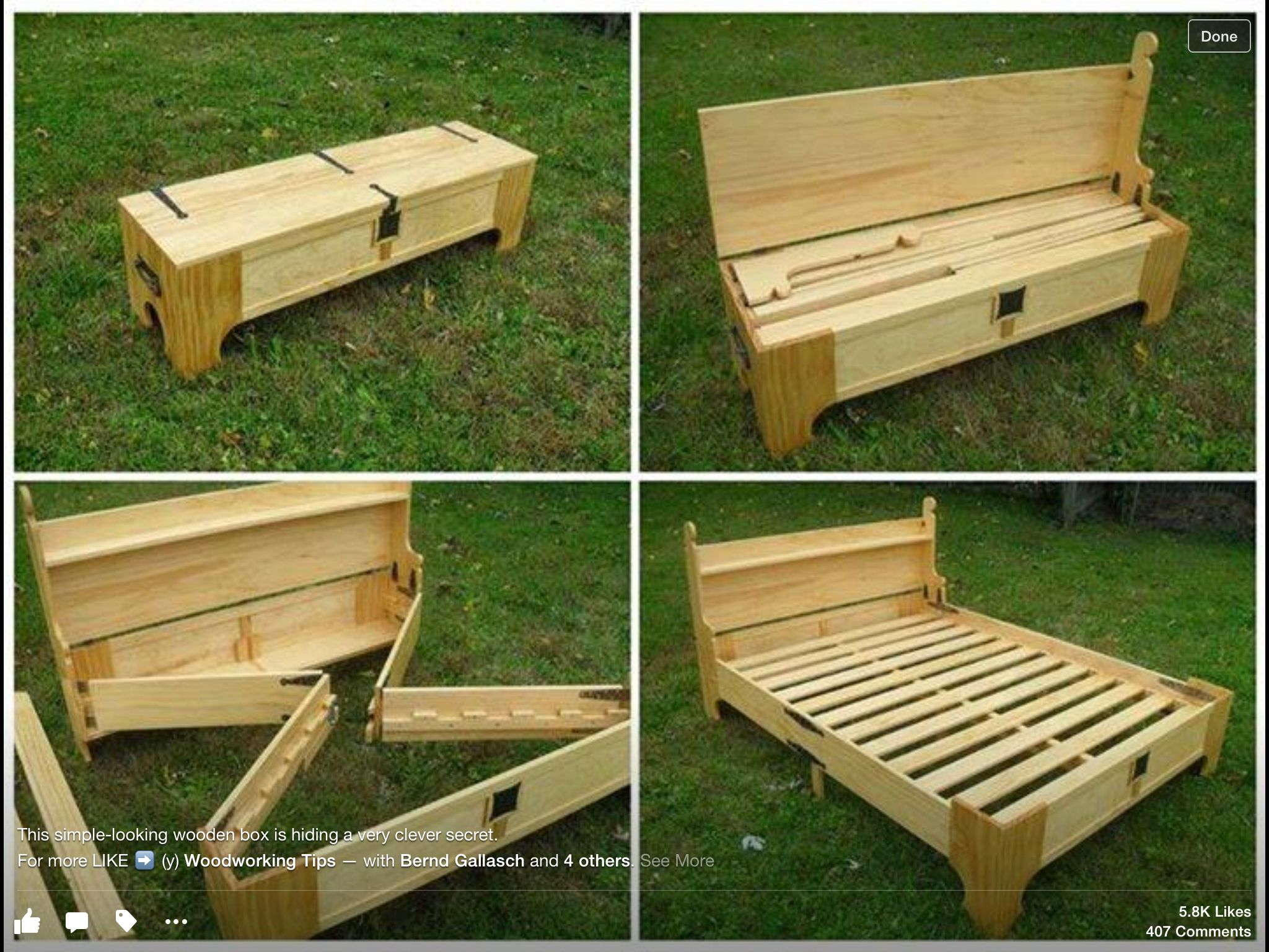 Remarkable Hidden Bed In Bench Woodworking Projects Diy Diy Bench Pdpeps Interior Chair Design Pdpepsorg