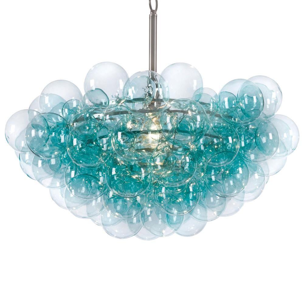 glass bubble chandelier lighting. Sima Modern Floating Glass Bubbles Aqua Chandelier Bubble Lighting E
