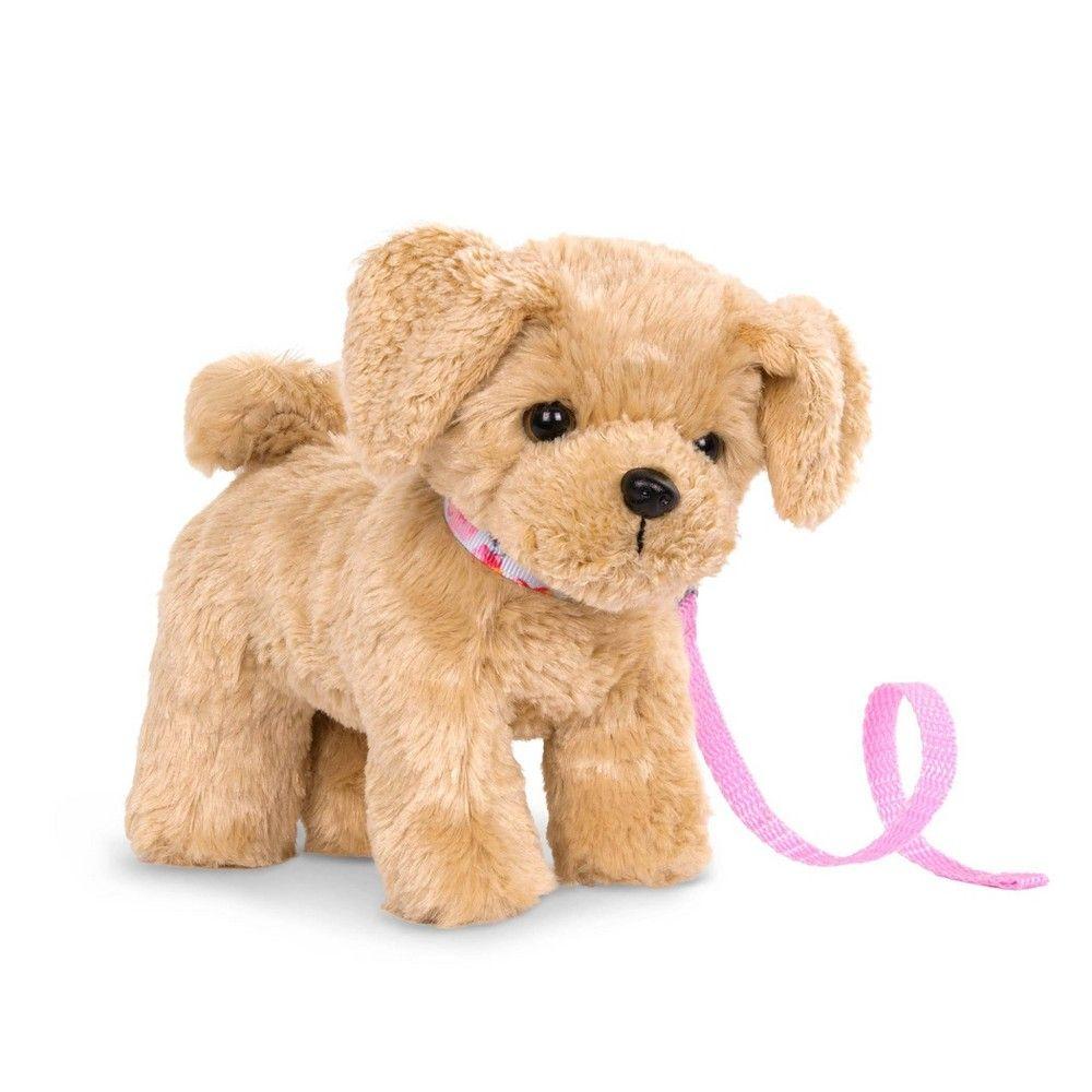 Our Generation Pet Dog Plush With Posable Legs Golden Poodle Pup In 2021 Plush Dog Goldendoodle Og Dolls [ 1000 x 1000 Pixel ]