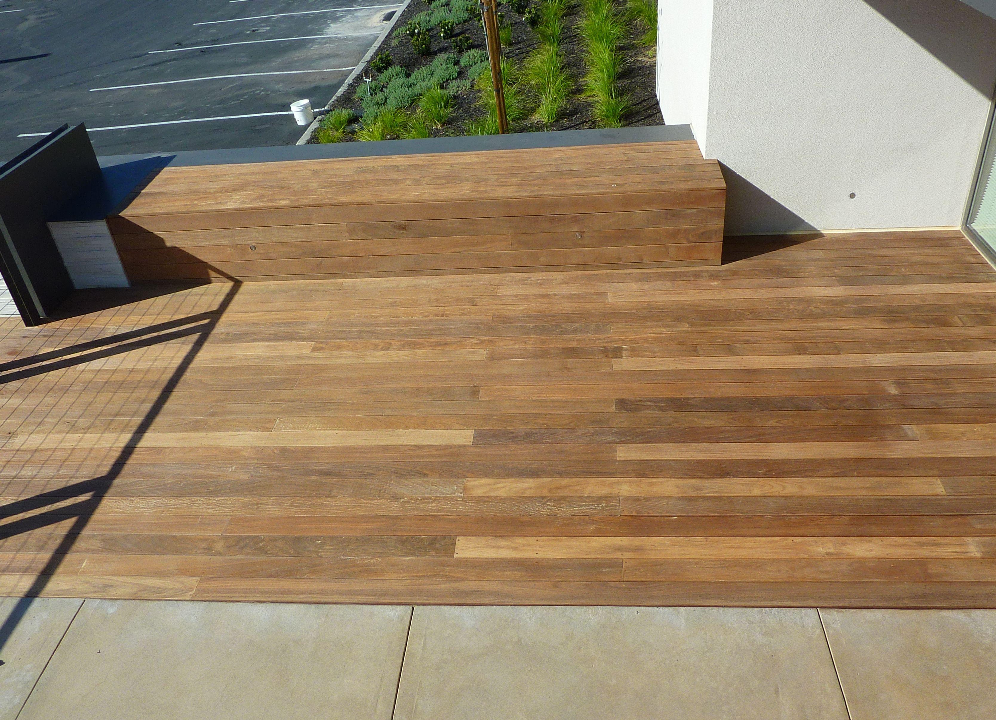 Medium Crop Of Sanding A Deck