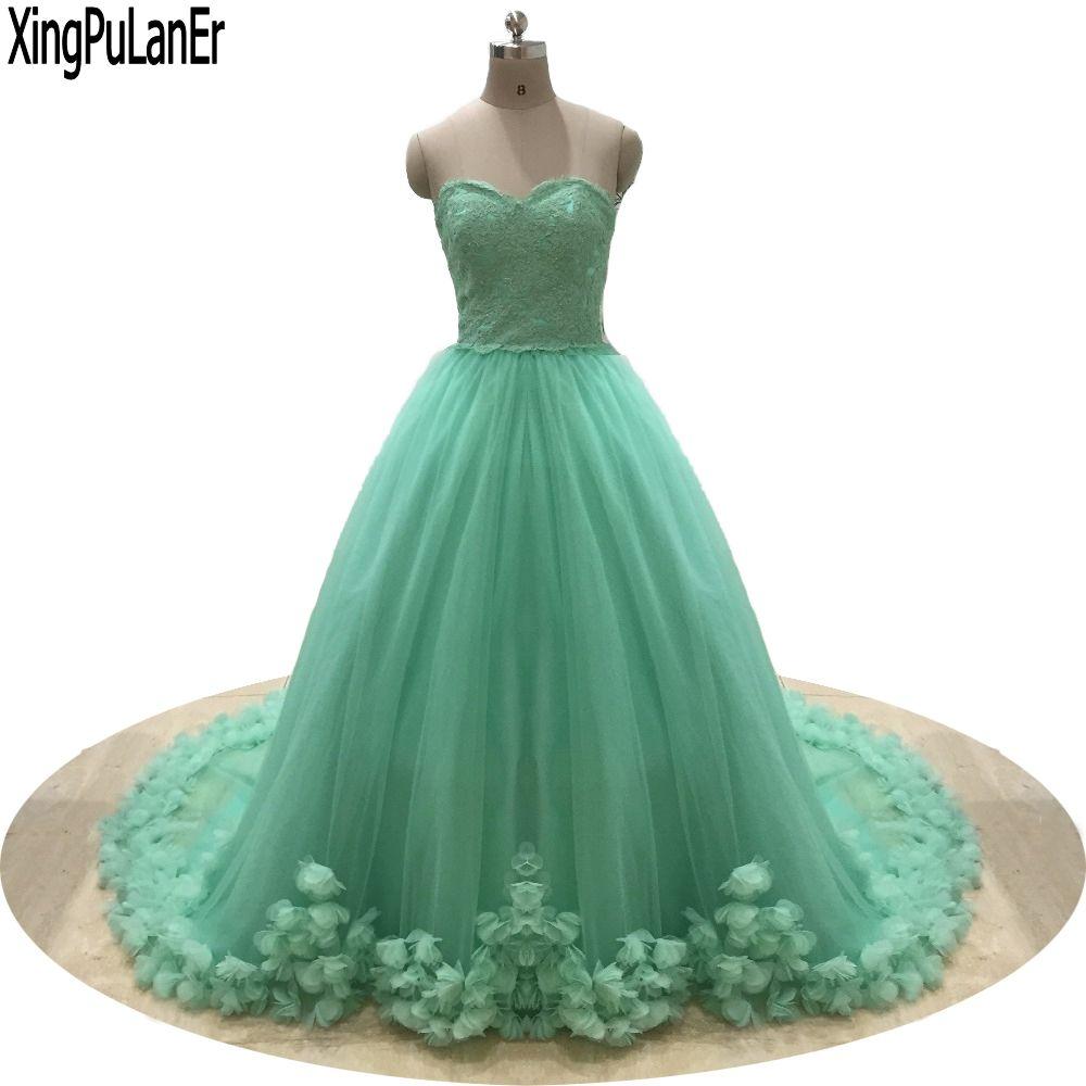 Click to buy ucuc vestido de festa a line sweetheart sleeveless lace