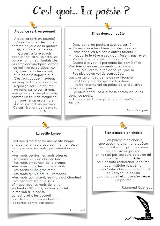 Häufig Rentrée] C'est quoi la poésie ? | Cycling, School and Teaching french BH06