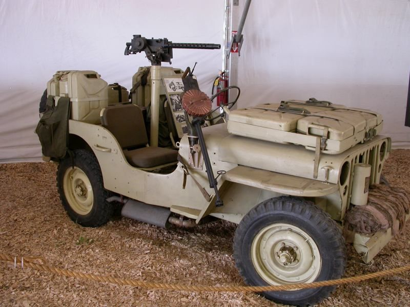 World War II SAS Jeep at the Camp Jeep history tent. | Jeep Willys ...