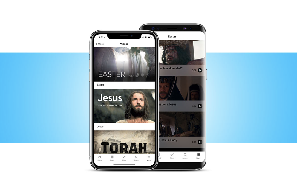 Discover the Easter story Easter story, Bible apps, Holy