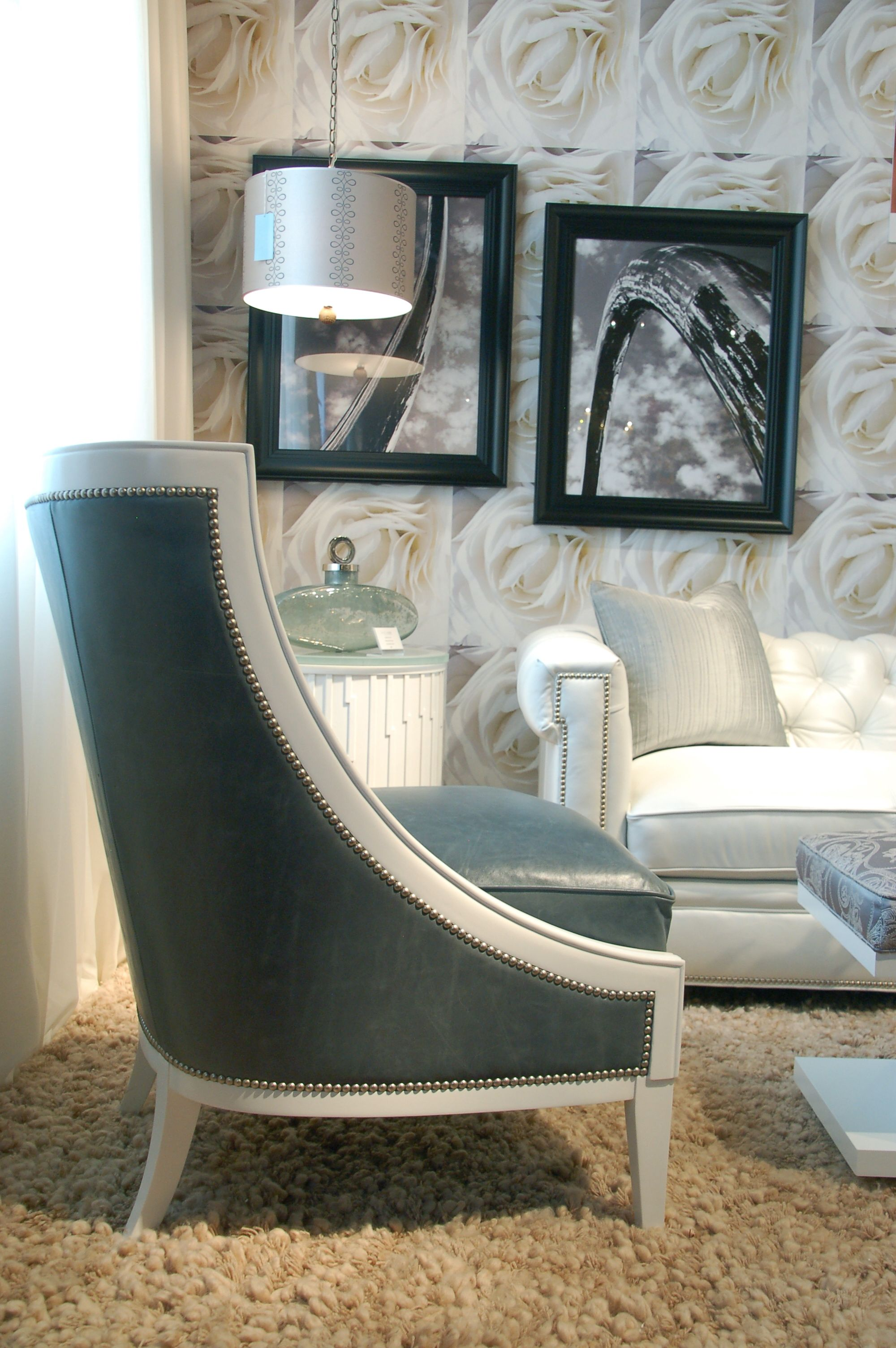 Dexter Chair Went From Beautiful To Ooh Lala In This Cloud White