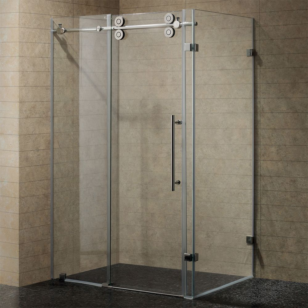 Vigo Vg6051 36x60 Rectangular 60 Inch Tempered Glass Shower