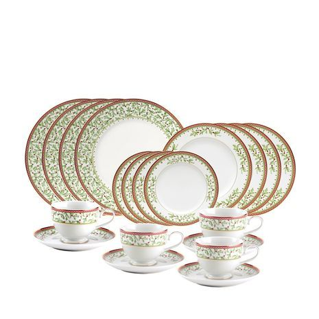 60 Piece Dinnerware Set with Bread and Butter Plate mikasa holiday traditions  sc 1 st  Pinterest & 60 Piece Dinnerware Set with Bread and Butter Plate mikasa holiday ...