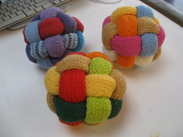 Knit Ball Tutorial Easy To Do In Crochet Knit Toys Pinterest