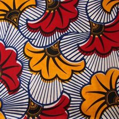 1 Coupon Tissu Wax Africain Fleurs De Mariage Inspirational