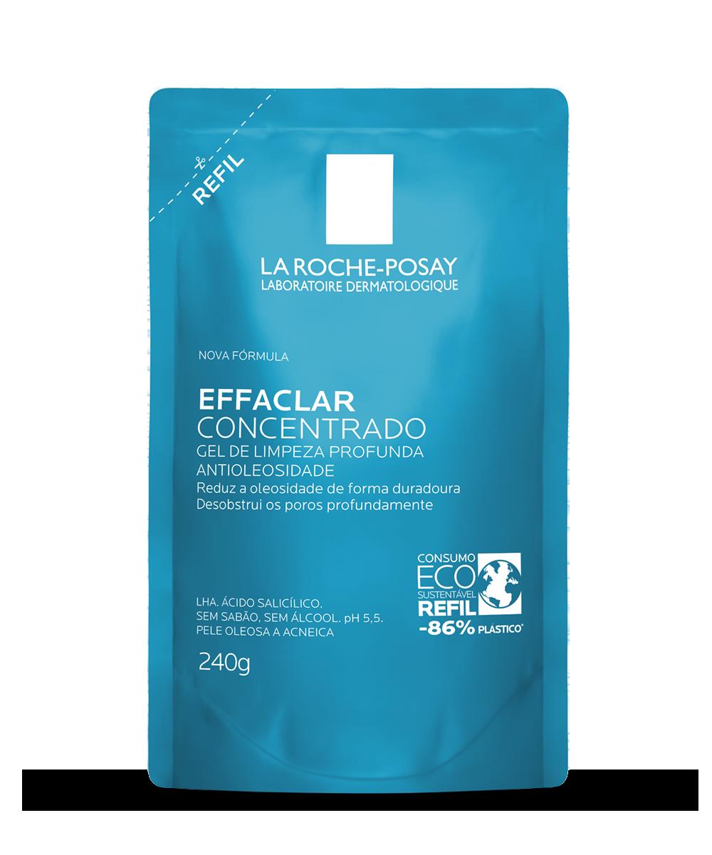 Lançamento: Embalagem refil  Effaclar Concentrado, gel de limpeza La Roche-Posay