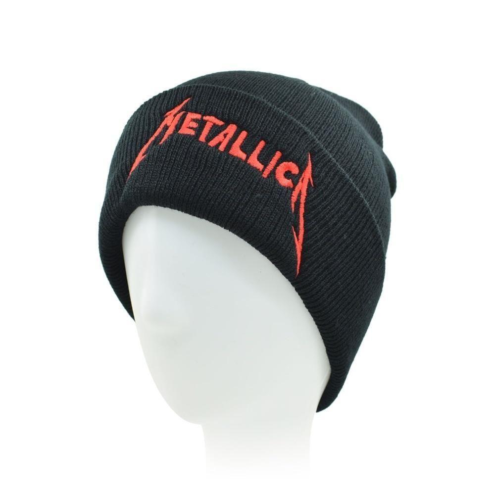 bf100992539 CLIMATE Men Women Winter Warm Beanie Hat Rock Metallica Rock Band Warm  Winter Knitted Beanies Hat Cap For Adult Men Women Free Shipping