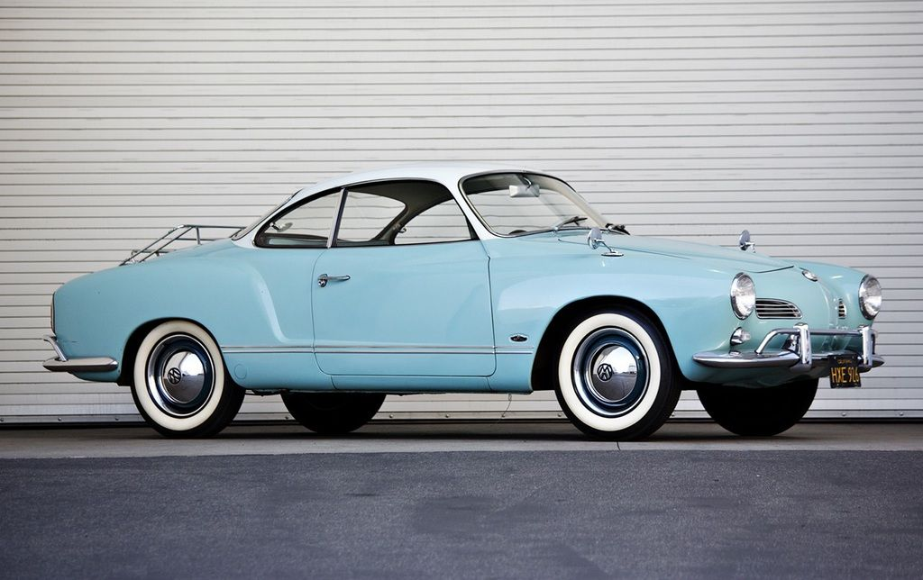 1963 Volkswagen Karmann Ghia.