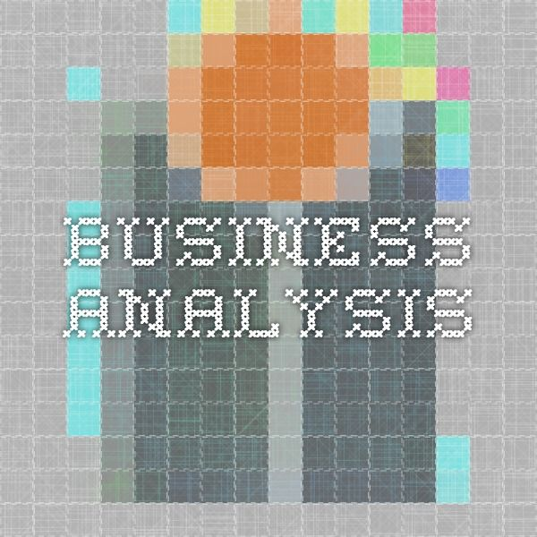 Business Analysis Business Analysis Certification Pinterest - business analysis