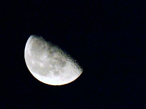 Space -  The moon from C yprus