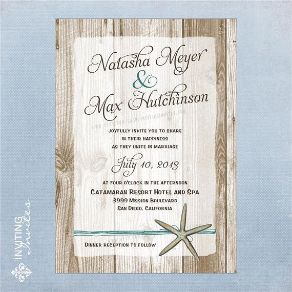 Hey, I found this really awesome Etsy listing at http://www.etsy.com/listing/89798871/starfish-wedding-invitation-destination