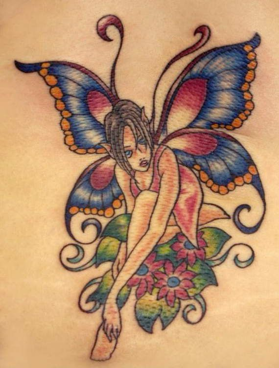 117 Juicy And Hot Fairy Tattoos For Girls 31 Fairy Tattoo Fairy Tattoo Designs Wild Tattoo