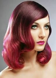 red tonal hair - Google Search