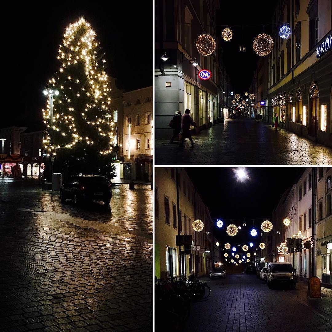 #straubing bei Nacht.  #nightshot December 17 2015 at 09:14PM