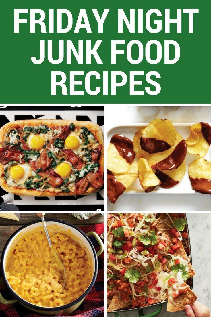 10 Friday night junk food recipes images