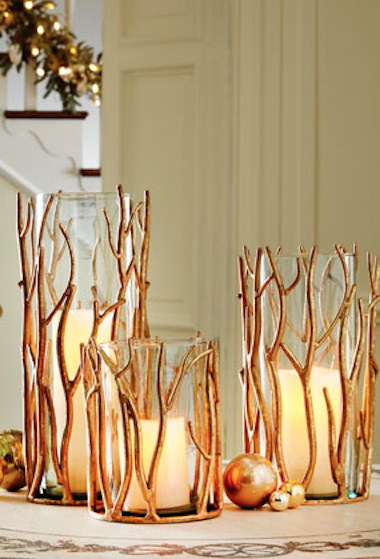 Awesome Beautiful Golden Twig Hurricane Vases Http://rstyle.me/n/uemvzr9te Photo